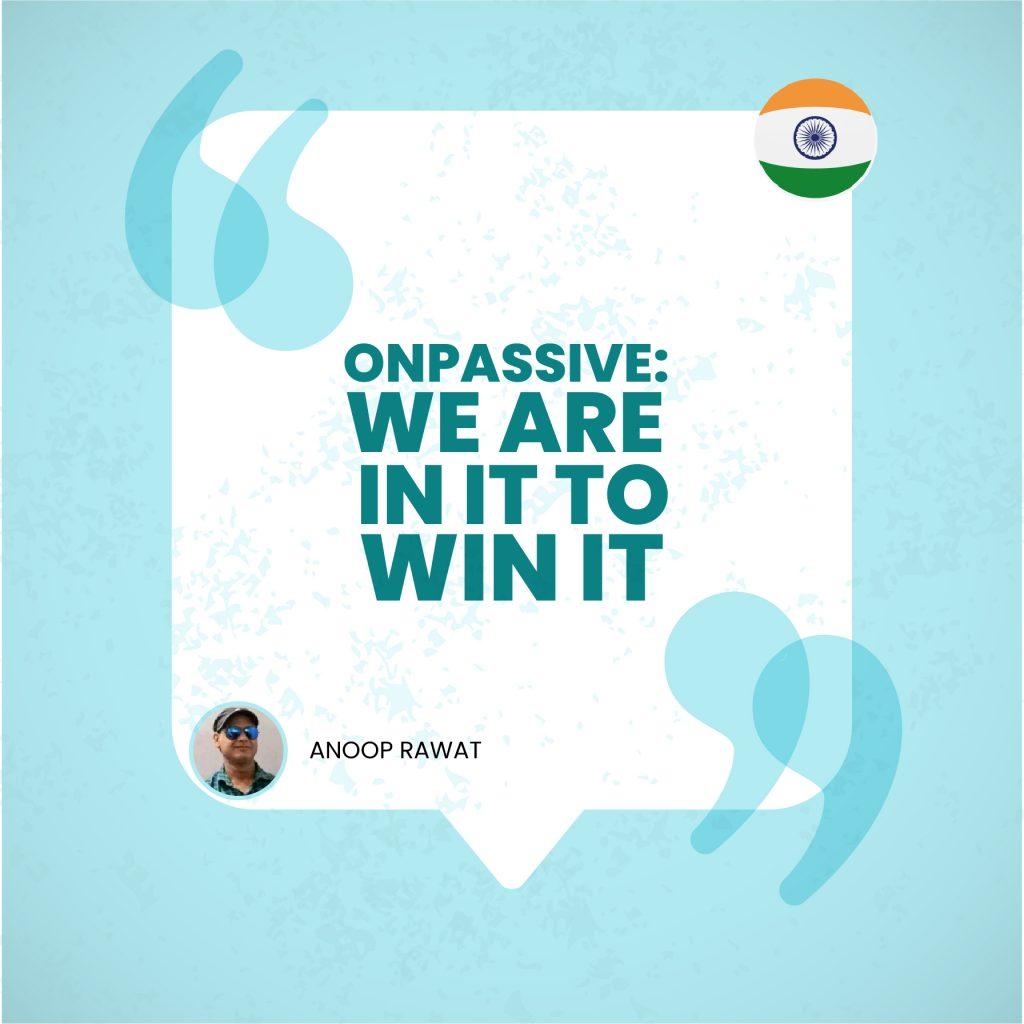 ANOOP RAWAT – India